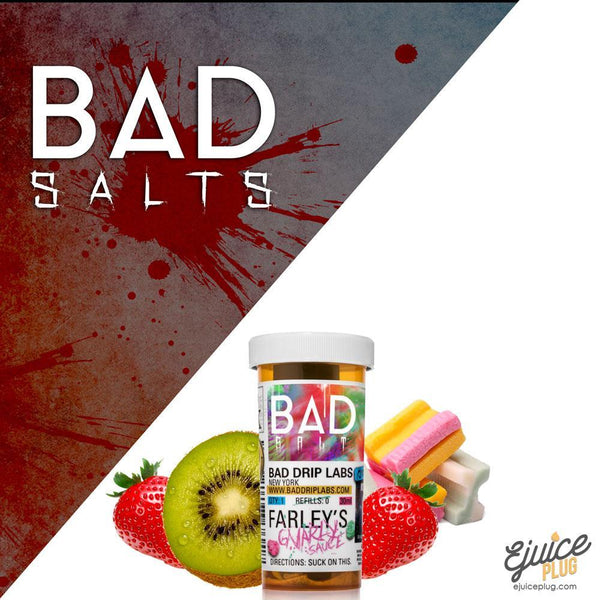 Bad Drips E-Liquid,- FARLEYS GNARLY SAUCE SALT By BAD DRIP - E-Juice Plug