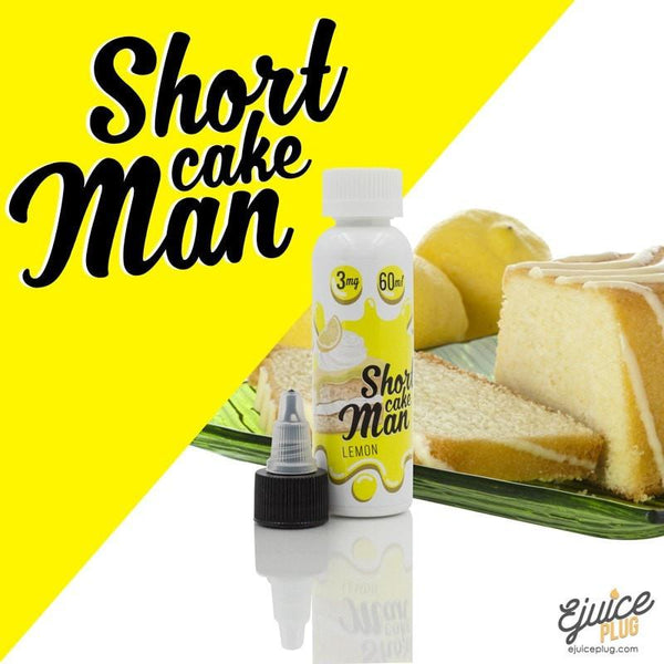 Shortcake Man,- Shortcake  Man - Lemon 60ml - E-Juice Plug