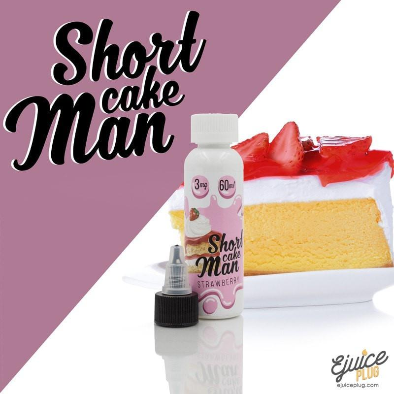 Shortcake Man,- Shortcake  Man - Strawberry 60ml - E-Juice Plug