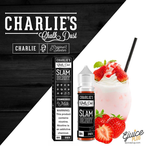 Slam Berry by Charlie's Chalk Dust Black Label 60ml
