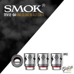 SMOK,- Smok TFV12 King Cloud Beast Sub Ohm Coils 3 PACK - E-Juice Plug