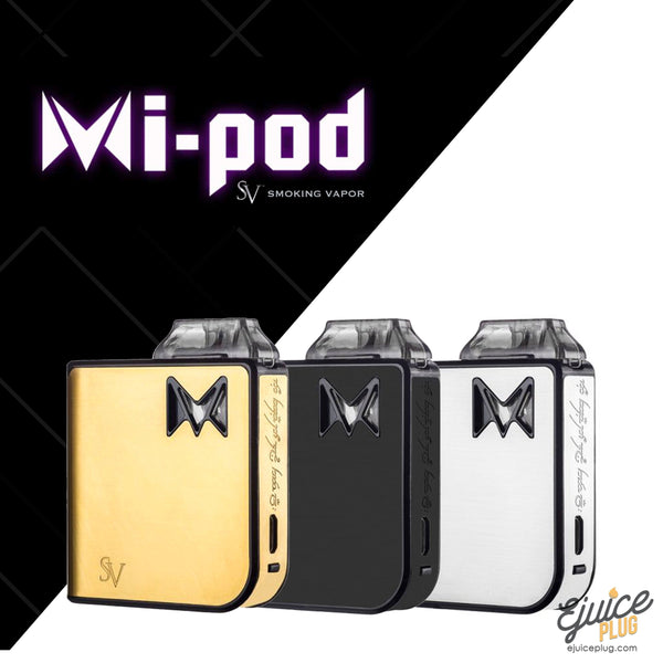 SMOKING VAPOR,- Mi-Pod Starter Kit by Smoking Vapor - E-Juice Plug