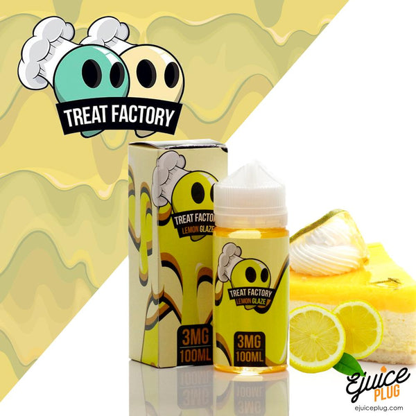 Treat Factory E-Liquids-Lemon Glaze-100ml