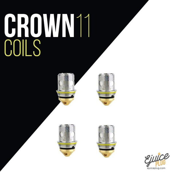 Uwell,- UWELL CROWN 2 REPLACEMENT COIL (PACK OF 4) - E-Juice Plug
