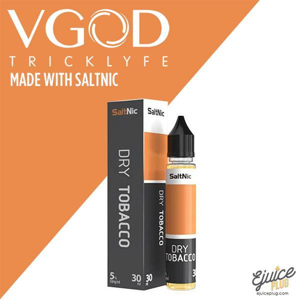 Dry Tobacco by Vgod Saltnic