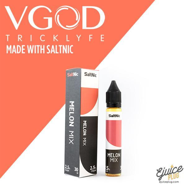 VGOD Saltnic,- Melon Mix made with Saltnic by VGOD - E-Juice Plug