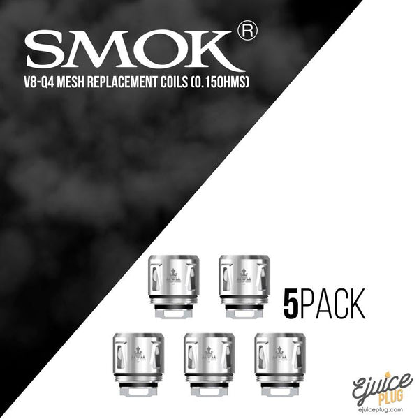 Smok Baby V8-Q4 Mesh Coils 5 pack (for TFV12 Baby Prince Tank)