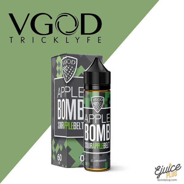 VGOD,- Apple Bomb by VGOD 60ml - E-Juice Plug