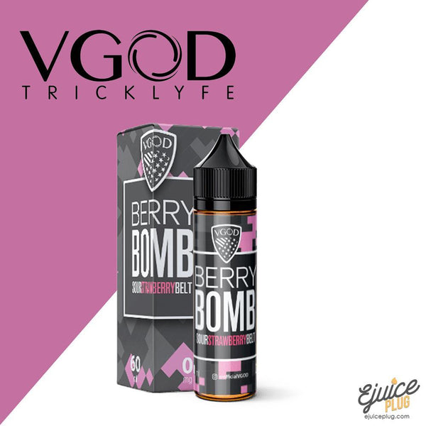 VGOD,- Berry Bomb by VGOD 60ml - E-Juice Plug