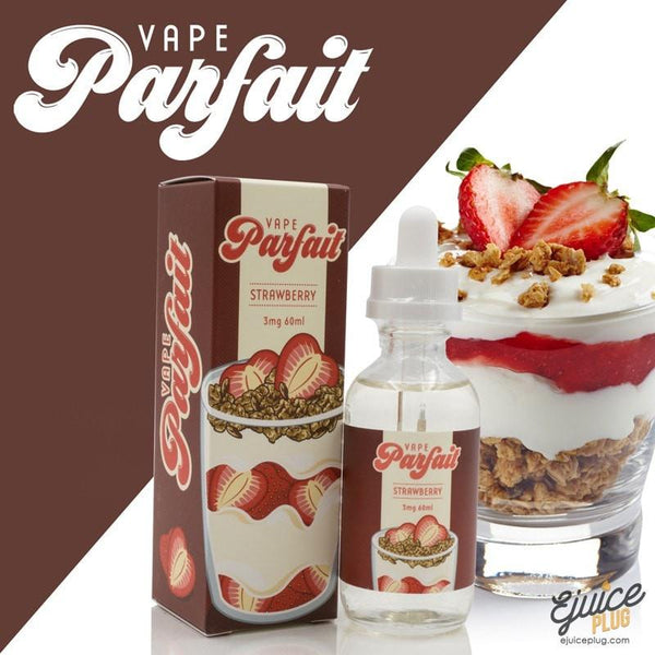 Vape Parfait,- Strawberry Parfait E Liquid by Vapetasia 60mL - E-Juice Plug