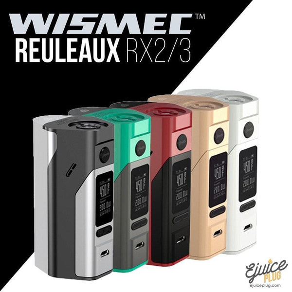 Wismec,- Wismec - RX 2/3 All Colors - E-Juice Plug