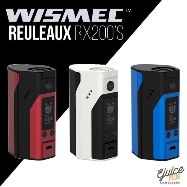 Wismec,- Wismec - RX 200S All Colors - E-Juice Plug