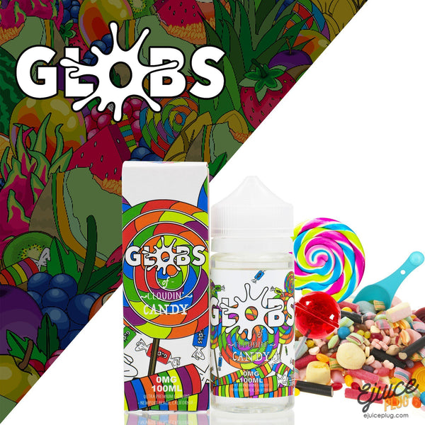 Globs Juice Co.,- Candy 100ml by Globs Juice Co. - E-Juice Plug