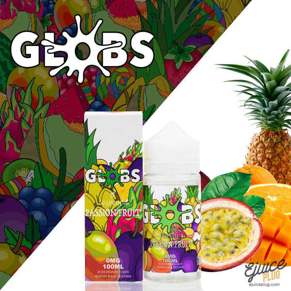 Passion Fruit 100ml by Globs Juice Co.