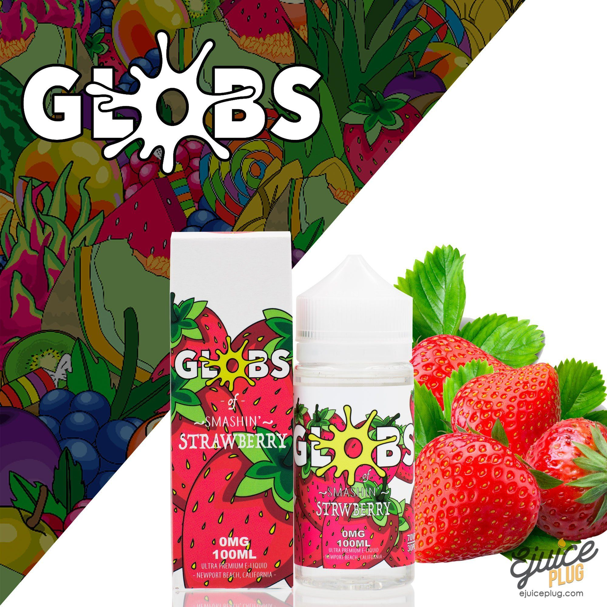 Strawberry 100ml by Globs Juice Co.