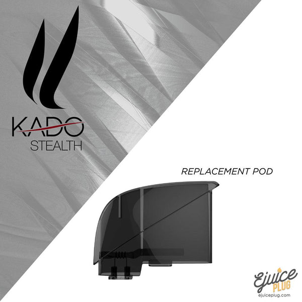 Kado,- Kado Stealth Replacement Pods - E-Juice Plug