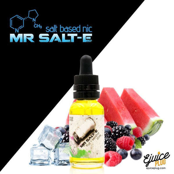 Mr. Salt-E,- Mr. Salt-E Fruit+Menthol - E-Juice Plug