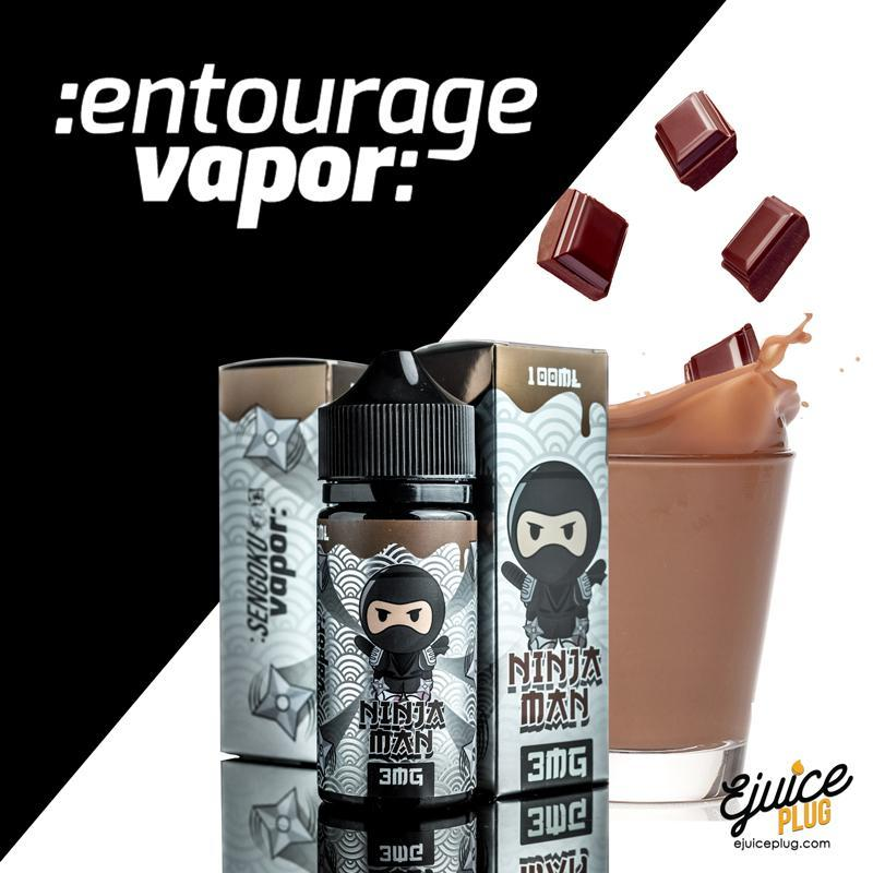 Entourage Vapor,- Ninja Man 100ml by Entourage Vapor - E-Juice Plug