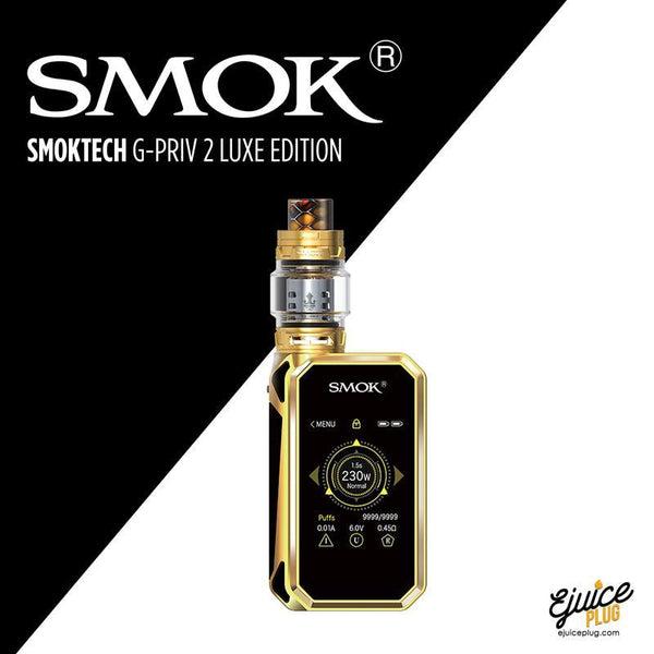 G-Priv 2 Luxe 220w Starter Kit with TFV12 Prince Tank By SmokTech