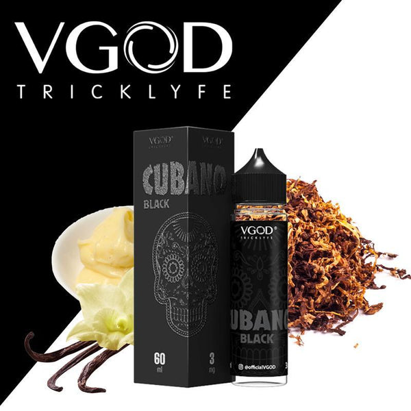 VGOD,- Cubano Black by VGOD 60ml - E-Juice Plug