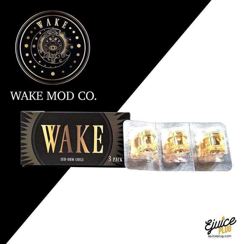 Wake Sub-Ohm Tank Replacement Coils (Pack of 3)