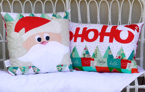 Ho Ho Ho Applique Cushion Pattern