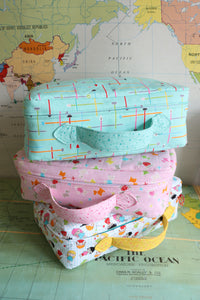 Small World Suitcase Pattern