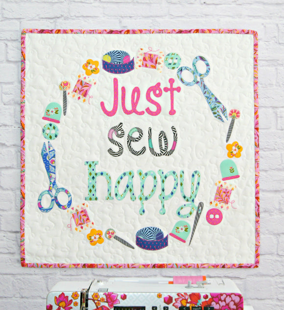 Just Sew Happy - Mini Quilt Pattern