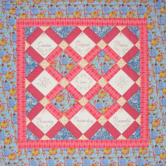 What's In A Name Quilt? - Boy Quilt Pattern