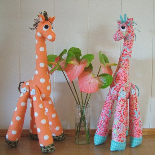 Mrs Perkins Giraffe Pattern