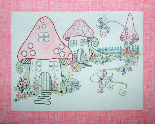 Stitching Fairies Embroidery Kit