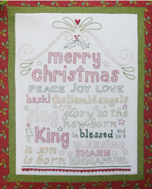 Be a Blessing Embroidery Kit