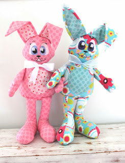 Rupet And Piper Rabbit Buddies pattern