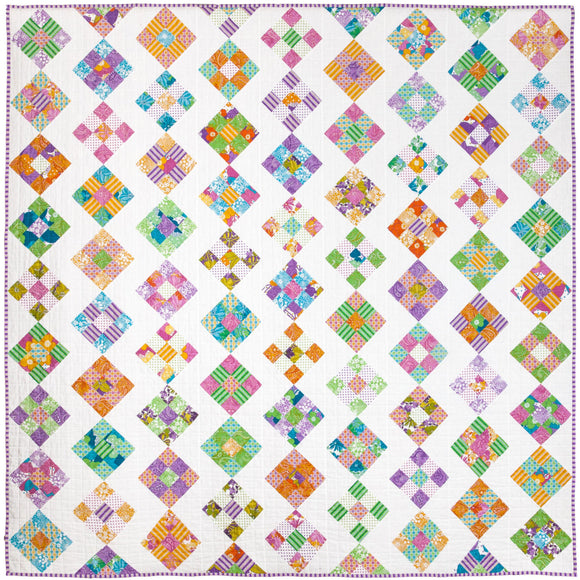 Bubble and Squeak Quilt Pattern