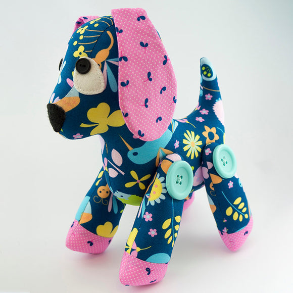 Pebbles Puppy Pattern
