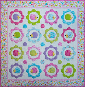 Happy Hedgehogs Quilt Pattern