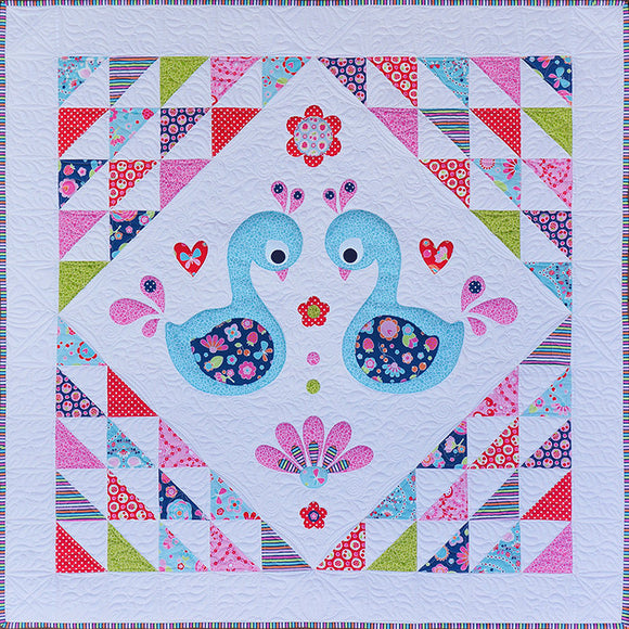 Sweet Little Swans Quilt Pattern