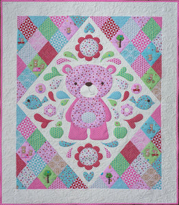 Sleepy Time Teddy Quilt Pattern