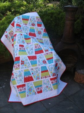 Tumble and Turn Quilt Pattern and Template Set
