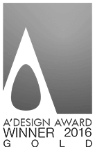 a'design gold winner award