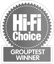 hi-fi choice grouptest winner award