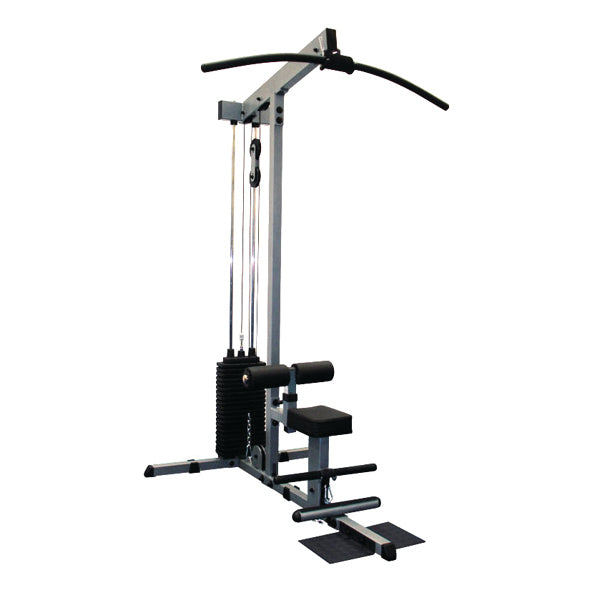 Body-Solid Lat Pulldown and Low Row with weight stack GLM84