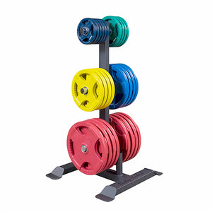 Body-Solid Olympic Plate Tree & Bar Holder GWT56