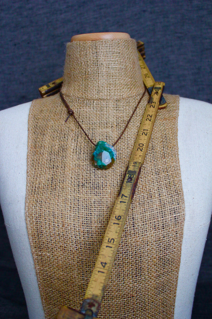 Natural Chrysocolla Necklace