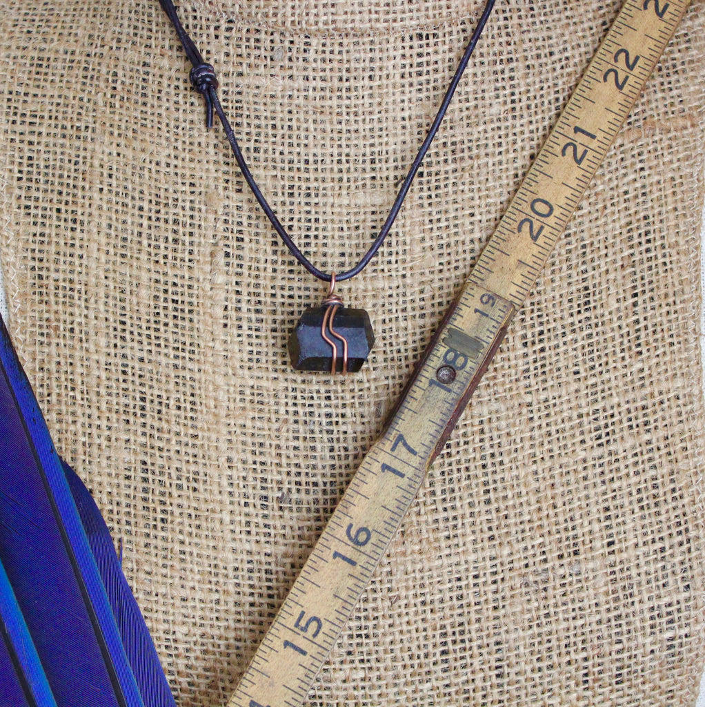 Chocolate Tourmaline Necklace