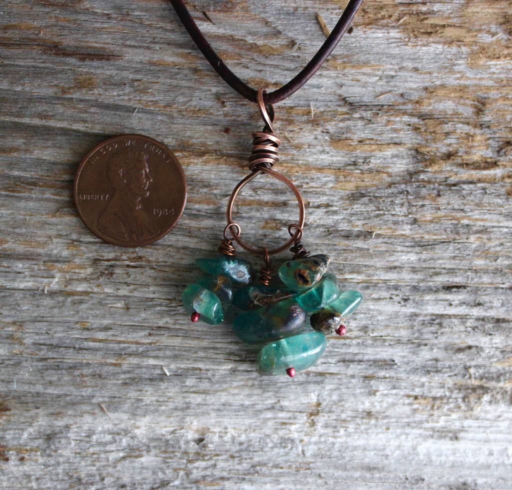 Blue Fluorite Necklace