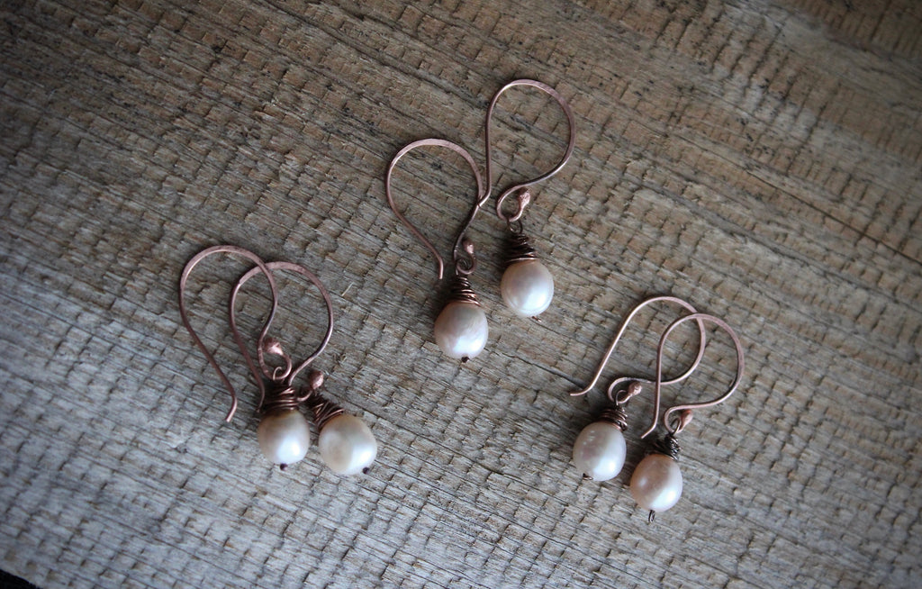 PINK BAROQUE EARRINGS