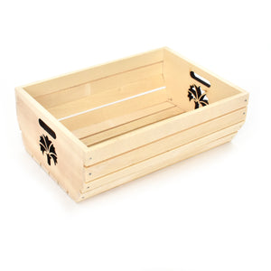 Wooden box - Carnation pattern - Woodnectar.com (woodnectar, wood, wooden box, cookie stamp, engraving)