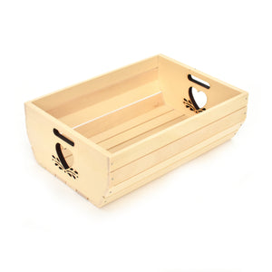 Wooden box - Heart - Woodnectar.com (woodnectar, wood, wooden box, cookie stamp, engraving)