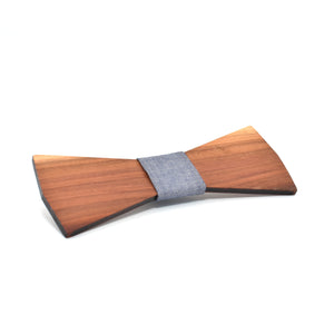 BOW TIE - Plum Elegant - Woodnectar.com (woodnectar, wood, wooden box, cookie stamp, engraving)